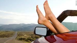 vacation foot