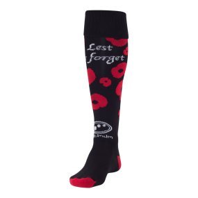 rememberance day sock